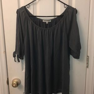 Green envelope Los Angeles top size large